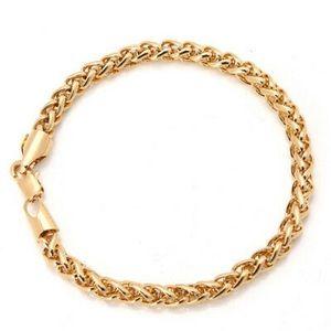14K Gold Plated Bracelet